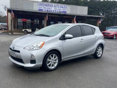 2013 Toyota Prius c for sale at Greenbrier Auto Sales in Greenbrier AR