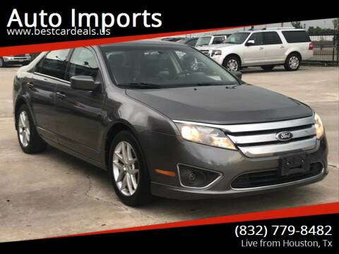 2012 Ford Fusion for sale at Auto Imports in Houston TX