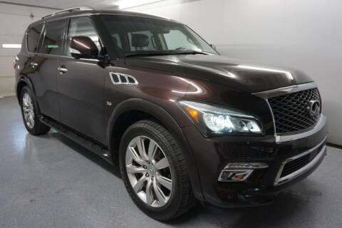2015 Infiniti QX80 for sale at World Auto Net in Cuyahoga Falls OH