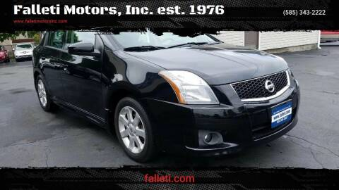 2010 Nissan Sentra for sale at Falleti Motors, Inc.  est. 1976 in Batavia NY