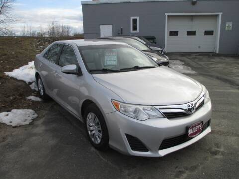 2014 Toyota Camry for sale at Percy Bailey Auto Sales Inc in Gardiner ME