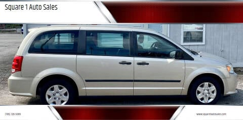 2012 Dodge Grand Caravan for sale at Square 1 Auto Sales - Commerce in Commerce GA