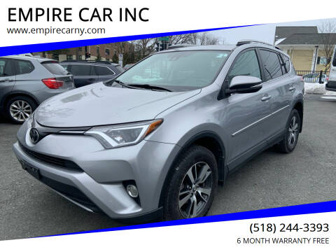 2017 Toyota RAV4 for sale at EMPIRE CAR INC in Troy NY