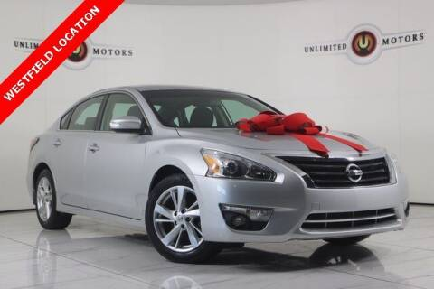 2015 Nissan Altima for sale at INDY'S UNLIMITED MOTORS - UNLIMITED MOTORS in Westfield IN