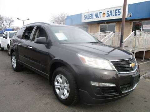 2014 Chevrolet Traverse for sale at Salem Auto Sales in Sacramento CA