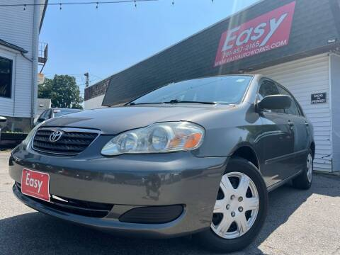 2007 Toyota Corolla for sale at Easy Autoworks & Sales in Whitman MA