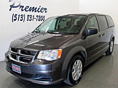 2017 Dodge Grand Caravan for sale at Premier Automotive Group in Milford OH