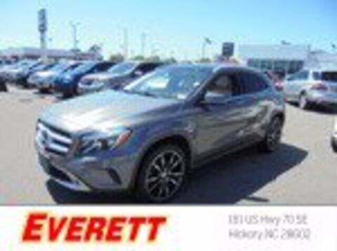 2016 Mercedes-Benz GLA for sale at Everett Chevrolet Buick GMC in Hickory NC