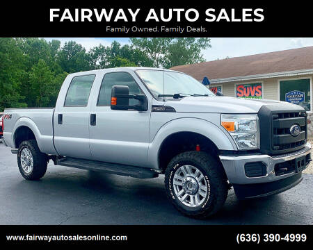 2015 Ford F-250 Super Duty for sale at FAIRWAY AUTO SALES in Washington MO