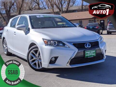 2016 Lexus CT 200h for sale at Street Smart Auto Brokers in Colorado Springs CO