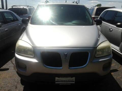 2005 Pontiac Montana SV6 for sale at SPRINGFIELD PRE-OWNED in Springfield IL