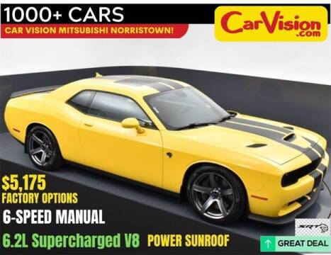 2018 Dodge Challenger for sale at Car Vision Buying Center in Norristown PA