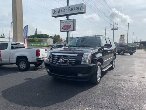 2009 Cadillac Escalade for sale at Used Car Factory Sales & Service in Bradenton FL