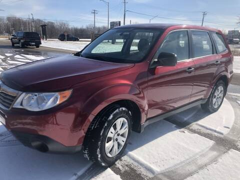 2010 Subaru Forester for sale at Fuzzy Dice Motorz LLC in Batavia IL