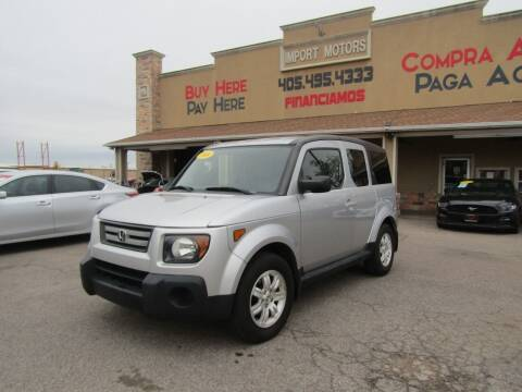 2008 Honda Element for sale at Import Motors in Bethany OK