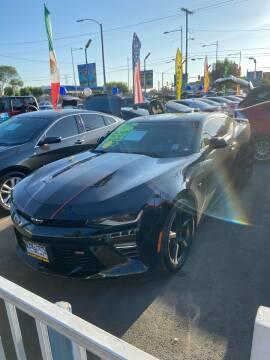 2017 Chevrolet Camaro for sale at 2955 FIRESTONE BLVD - 3271 E. Firestone Blvd Lot in South Gate CA