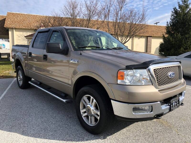 2005 Ford F-150 for sale at CROSSROADS AUTO SALES in West Chester PA
