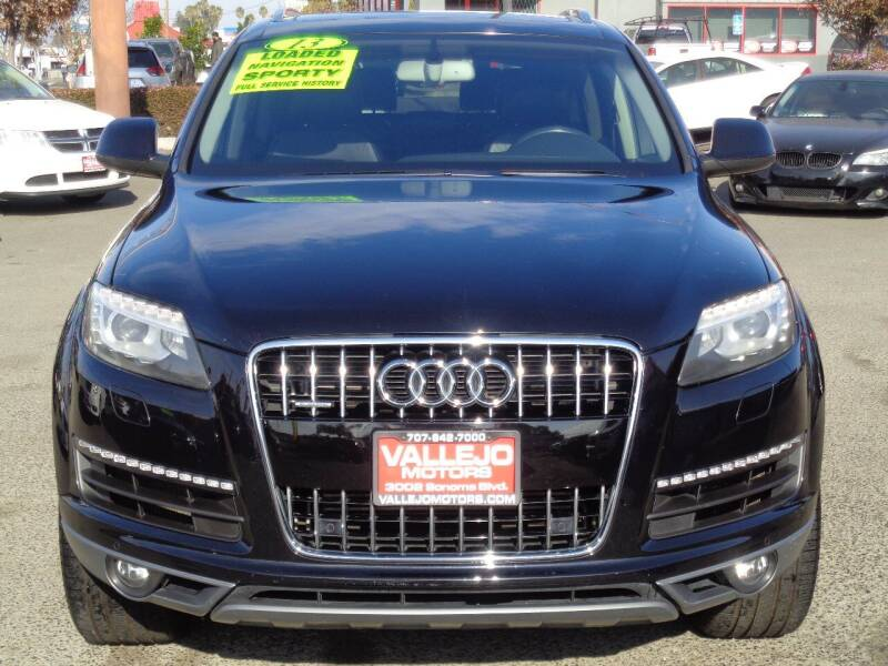 2013 Audi Q7 for sale at Vallejo Motors in Vallejo CA