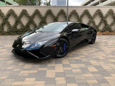 2020 Lamborghini Huracan for sale at ROGERS MOTORCARS in Houston TX