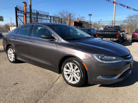 2015 Chrysler 200 for sale at SKY AUTO SALES in Detroit MI