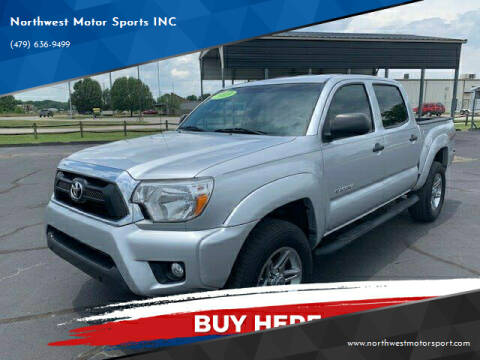 2013 Toyota Tacoma for sale at Northwest Motor Sports INC in Rogers AR