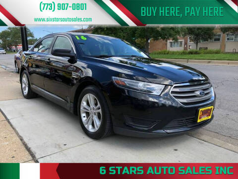 2016 Ford Taurus for sale at 6 STARS AUTO SALES INC in Chicago IL