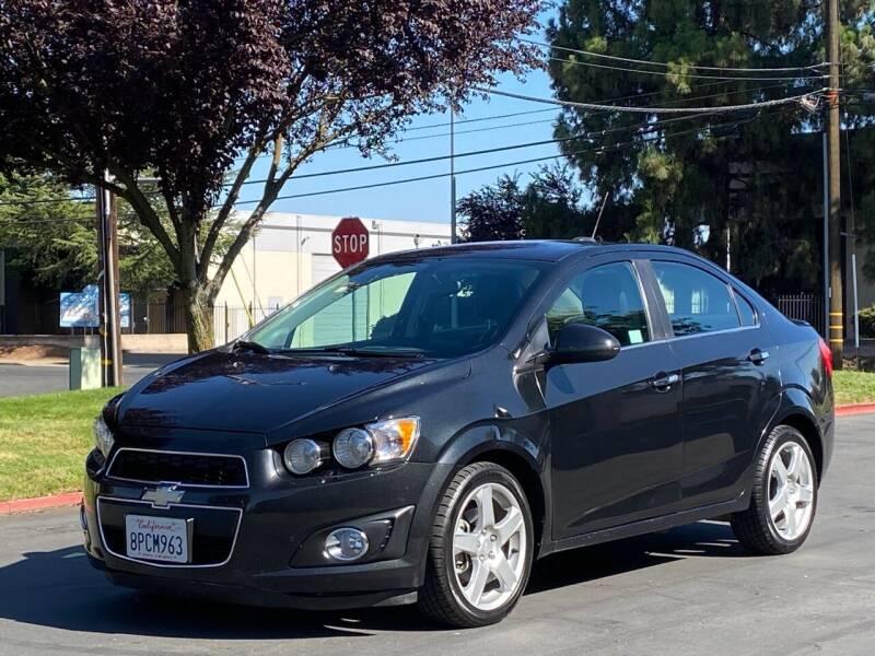 2015 Chevrolet Sonic for sale at AutoAffari LLC in Sacramento CA