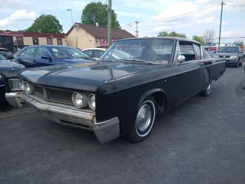 1967 Chrysler Newport for sale at P J McCafferty Inc in Langhorne PA