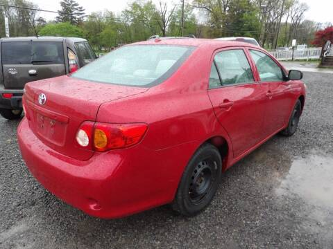 2010 Toyota Corolla for sale at English Autos in Grove City PA
