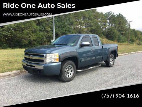 2010 Chevrolet Silverado 1500 for sale at Ride One Auto Sales in Norfolk VA
