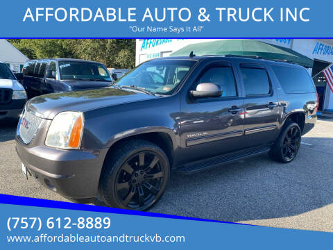 2010 GMC Yukon XL for sale at AFFORDABLE AUTO & TRUCK INC in Virginia Beach VA