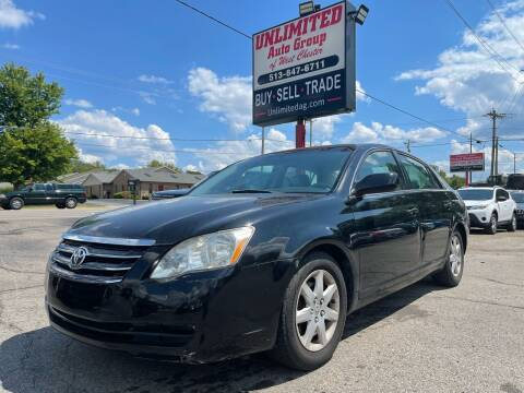 2007 Toyota Avalon for sale at Unlimited Auto Group in West Chester OH