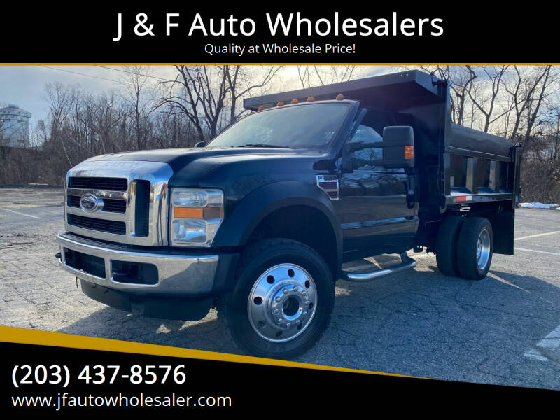2008 Ford F-550 Super Duty for sale at J & F Auto Wholesalers in Waterbury CT