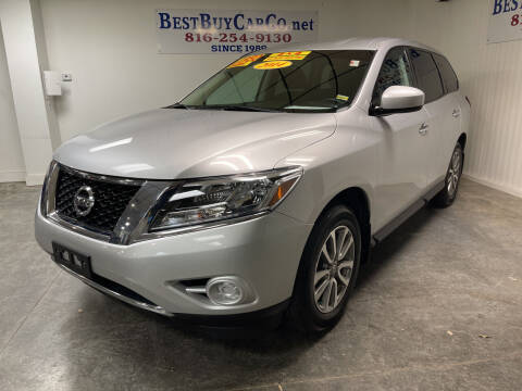 2014 Nissan Pathfinder for sale at Best Buy Car Co in Independence MO