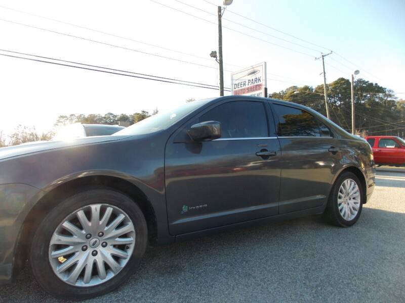 2011 Ford Fusion Hybrid for sale at Deer Park Auto Sales Corp in Newport News VA