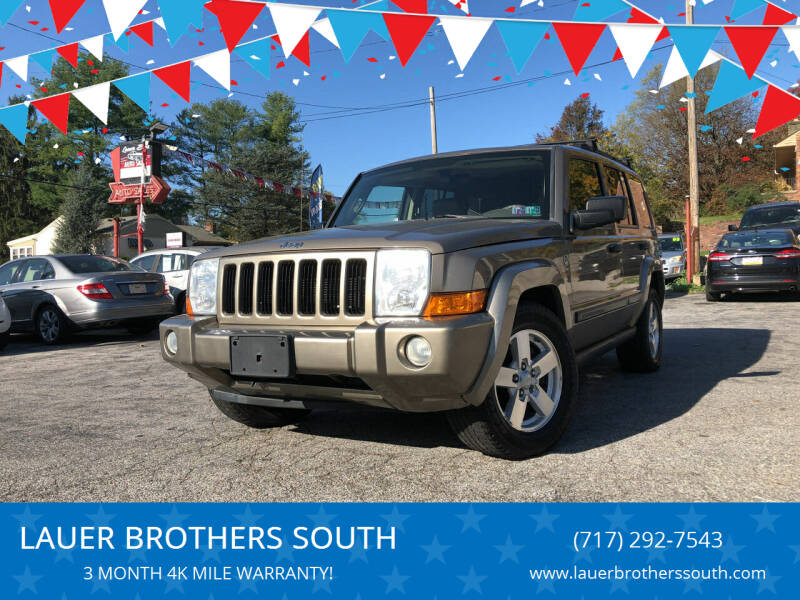 2006 Jeep Commander for sale at LAUER BROTHERS SOUTH in York PA