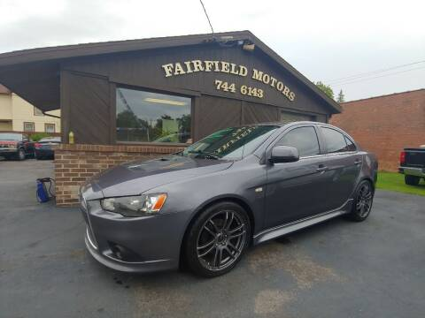 2011 Mitsubishi Lancer for sale at Fairfield Motors in Fort Wayne IN
