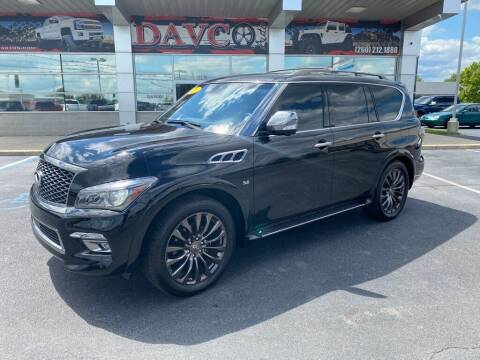 2017 Infiniti QX80 for sale at Davco Auto in Fort Wayne IN
