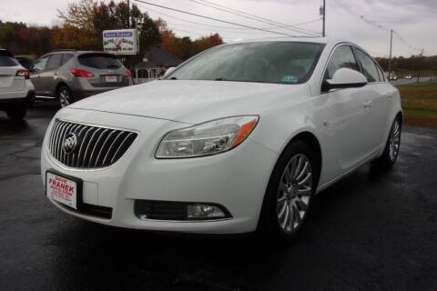 2011 Buick Regal for sale at Dave Franek Automotive in Wantage NJ