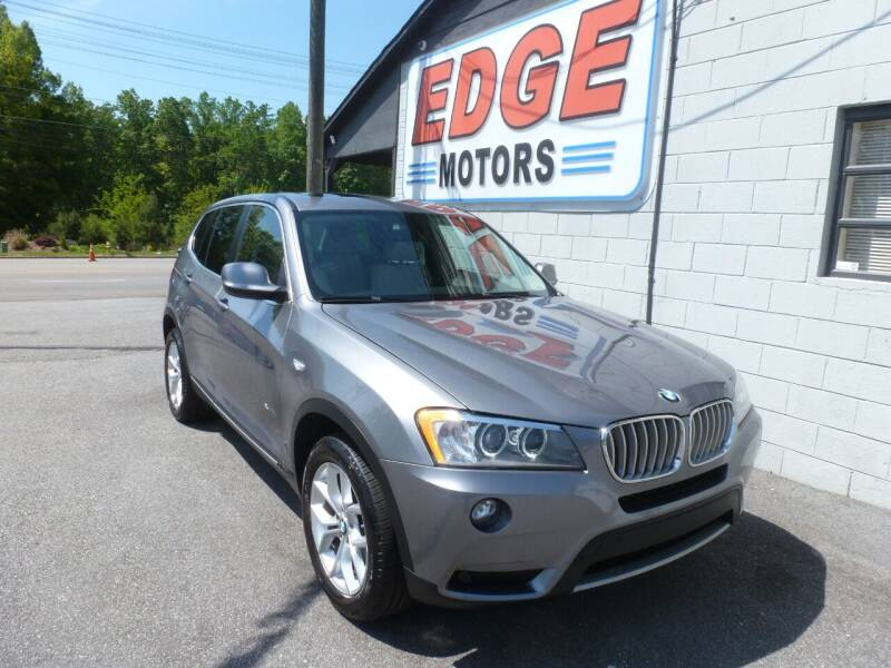 2014 BMW X3 for sale at Edge Motors in Mooresville NC