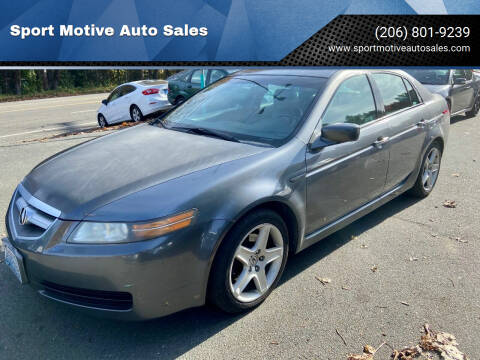 2005 Acura TL for sale at Sport Motive Auto Sales in Seattle WA