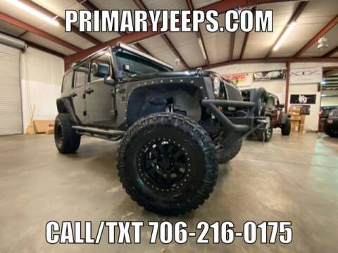 2012 Jeep Wrangler Unlimited for sale at Primary Auto Group Jeeps Hummers Tacomas in Dawsonville GA