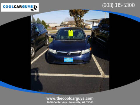 2006 Honda Civic for sale at Cool Car Guys in Janesville WI