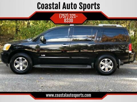 2006 Nissan Armada for sale at Coastal Auto Sports in Chesapeake VA