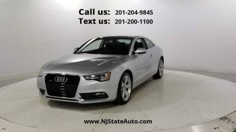 2014 Audi A5 for sale at NJ State Auto Used Cars in Jersey City NJ