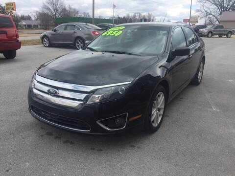 2012 Ford Fusion for sale at KEITH JORDAN'S 10 & UNDER in Lima OH