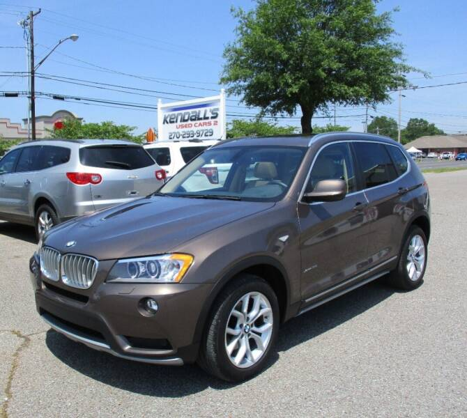 2011 BMW X3 for sale at Kendall's Used Cars 2 in Murray KY