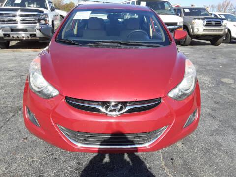 2013 Hyundai Elantra for sale at LOS PAISANOS AUTO & TRUCK SALES LLC in Peachtree Corners GA