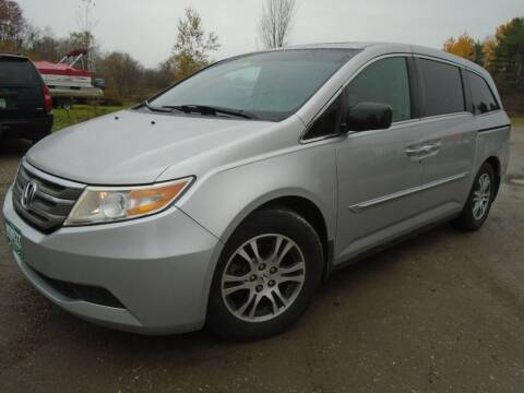 2012 Honda Odyssey for sale at Wimett Trading Company in Leicester VT