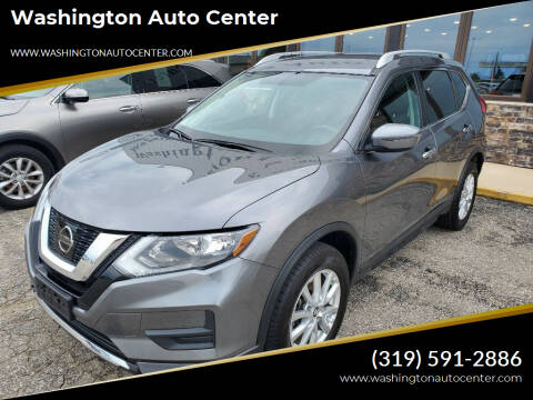 2017 Nissan Rogue for sale at Washington Auto Center in Washington IA